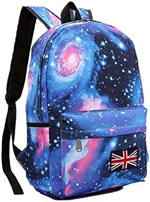ca2235473fb7c Rucksäcke Teenager Kinder Schule Schultasche Schulranzen Sternenhimmel  Galaxis Reise Rucksack Backpack Erwachsene Schulrucksack Freizeitrucksack