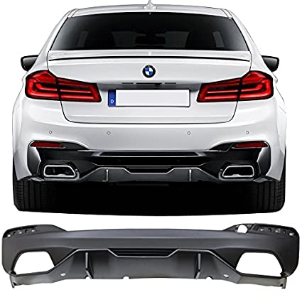 Amazon Com Rear Diffuser Fits 2017 2019 Bmw 5 Series G30 Mp Style