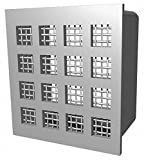 Security Grille,Three Tier,10x6