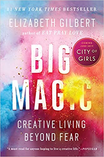 The Big Magic by Elizabeth Gilbert travel product recommended by Jennifer Convissor on Pretty Progressive.
