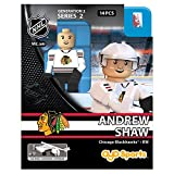 NHL Chicago Blackhawks Andrew Shaw GEN 2 Limited Edition Minifigure, Small, Black