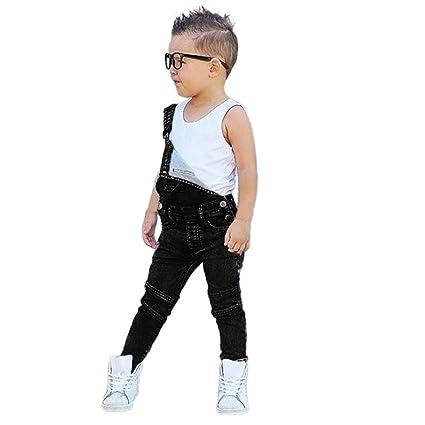 73f66a8b4 Amazon.com   Simayixx Hot!Overalls for Baby Boys Girls Sleevele ...
