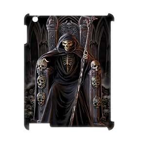 C-EUR Grim Reaper Pattern 3D Case for iPad 2,3,4