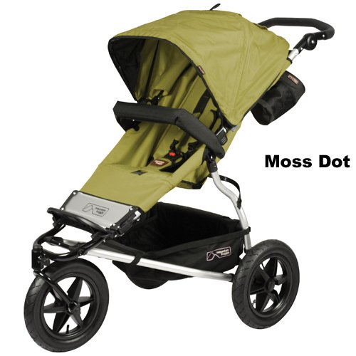 Mountain Buggy Urban Jungle Stroller, Moss Dot Discontinued by Manufacturer