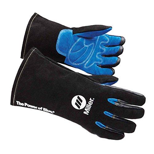 Small Steiner 2119C-S Kevlar Side Split Cowhide Leather Welding Gloves