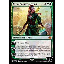 Magic the Gathering: Nissa, Nature's Artisan - Planeswalker Deck Exclusives - Foil