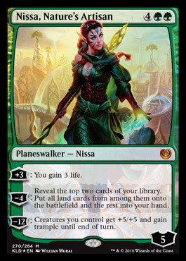 Magic: the Gathering - Nissa, Nature39;s Artisan (270/264) - Planeswalker Deck Exclusives - Foil