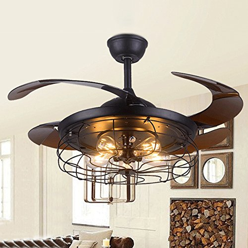 rustic flush ceiling fan - 8