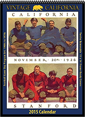 Cal Berkeley Golden Bears 2015 Vintage Football Calendar Asgard