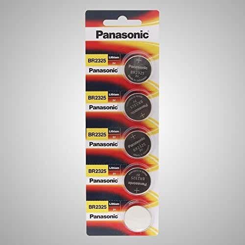 Panasonic BR2325 Lithium 3V Coin Cell Battery DL2325 CR2325 X 4