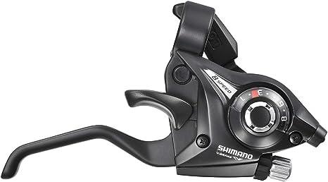 SHIMANO Negro Manetas Altus EF51-A 8V, Bicicletas, 8 Velocidades ...