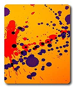 custom printed mouse pad Paint Splatters PC Custom Mouse Pads / Mouse Mats Case Cover
