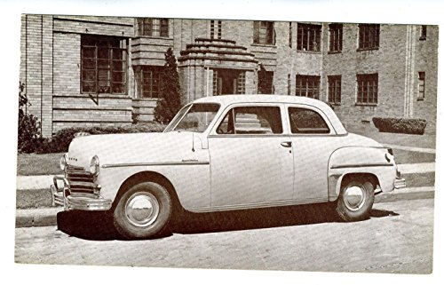 Collectible Club Coupe - 1949 Plymouth Club Coupe Dealer Advertising Postcard