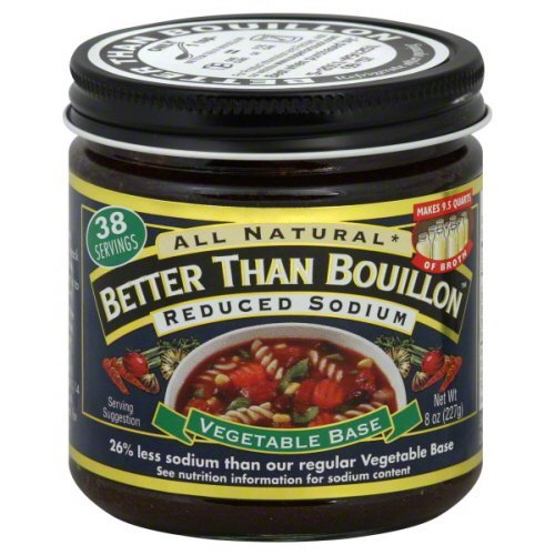 Superior Touch Better Than Bouillon Reduced Sodium Vegetable Soup Base 8 oz - Pack of 6