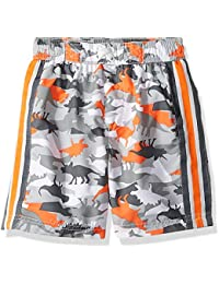 Little Boys' Printed Swim Trunks