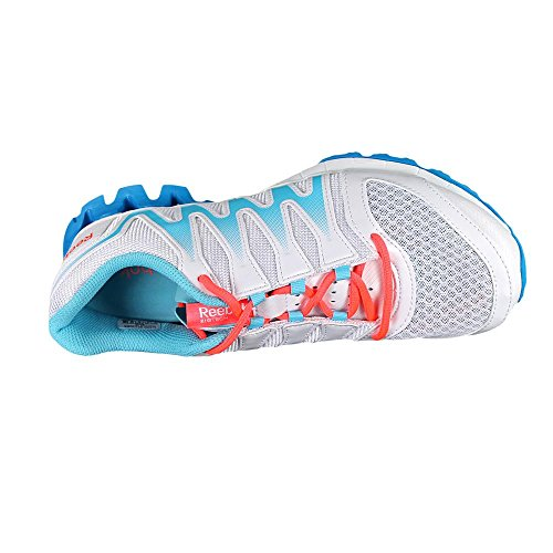 Reebok Zigkick Tahoe Route Ii Running Shoe White/Hydro Blue/Blue Bomb/Punch Pink