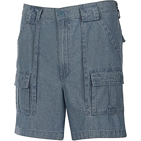 Weekender® Trader Cargo Short Chambray 36 - Dyed Cotton Short