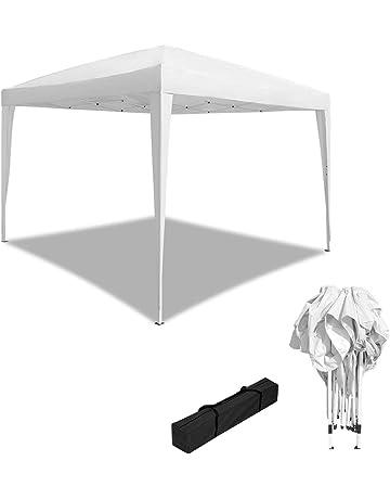 HENGMEI - Cenador Plegable para jardín, 3 x 3 m / 3 x 6 m