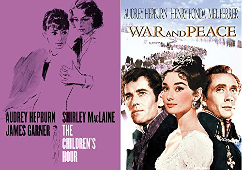 Masterpiece Film 2-pack War and Peace + The Children's Hour Audrey Hepburn Movie Double Feature Bundle