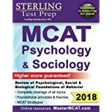 Sterling Test Prep MCAT Psychology & Sociology: Review of Psychological, Social & Biological Foundations of Behavior