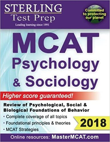 Sterling Test Prep Mcat Psychology Sociology Review Of