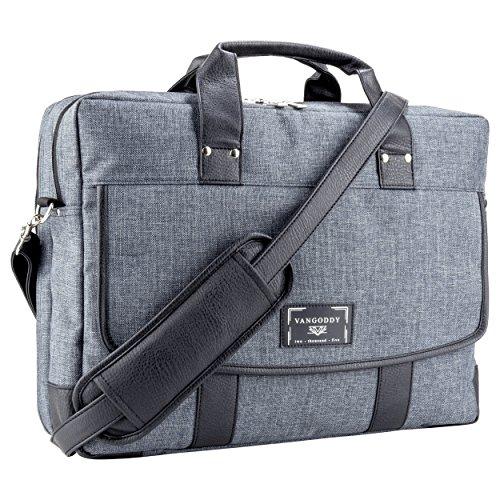 VanGoddy Chrono Laptop Bag for MSI X Leopard / Mobile Workstation / Apache / Stealth / Titan / GT / 16