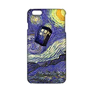 Angl 3D Case Cover Cartoon Doctor Who Phone Case for iPhone6 plus