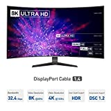 Cable Matters 8K DisplayPort to DisplayPort Cable