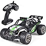 #4: SIMREX A120 RC Cars High Speed 20MPH Scale RTR Remote Control Brushed Monster Truck Off Road Car Big Foot RC 2WD Electric Power Buggy W/2.4G Challenger Green