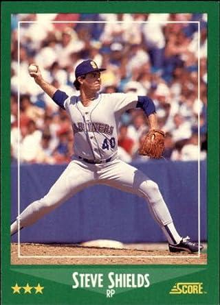 Amazoncom 1988 Score Baseball Card 396 Steve Shields Near
