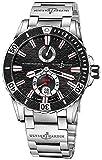 Ulysse Nardin Marine Diver Steel Bracelet Men's Watch 263-10-7M/92