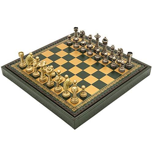(Regencychess The Turin Verde Italian Chess Set)