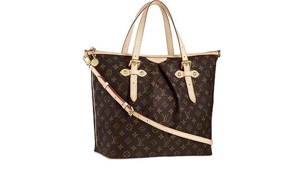 48e7c87b3d2d Amazon.com   Louis Vuitton Palermo GM M40146   Cosmetic Tote Bags   Beauty