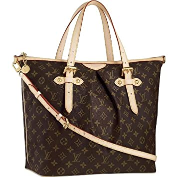 557f29bab2dc3 Amazon.com   Louis Vuitton Palermo GM M40146   Cosmetic Tote Bags   Beauty