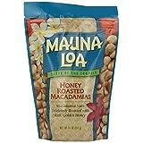 Hawaiian Gift Basket Mauna Loa Macadamia Nuts Honey Roasted 4 Bags by Mauna Loa