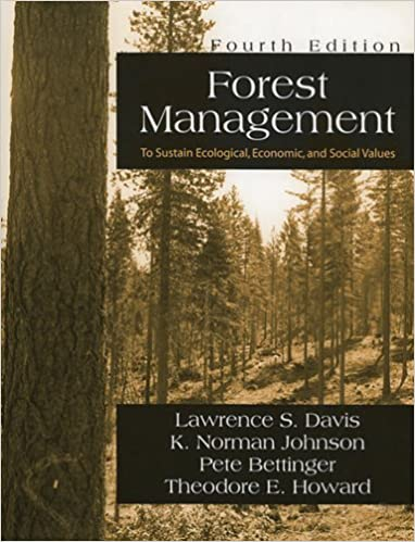 Forest Management: To Sustain Ecological, Economic, and Social Values by Lawrence S. Davis (2005-11-25)