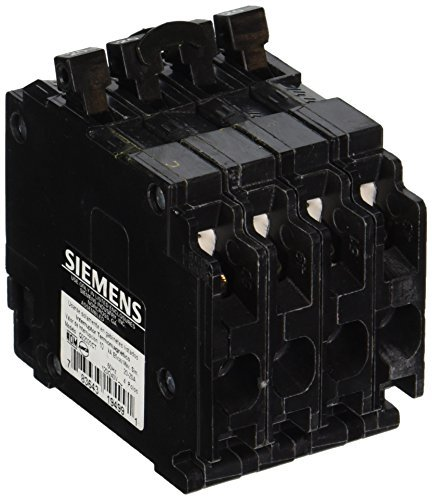 Siemens Q22020CT Triple Circuit Breaker, Plug-In, 20/20 Amps by Siemens Energy Automation Inc