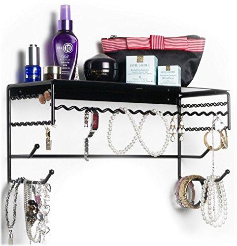 17 Inch Accessory Shelf (Black 17