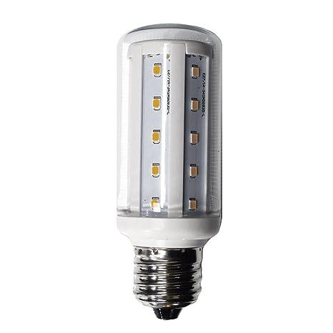 LightED Mini Corn Bombilla LED 30K E27, 6 W, Blanco 46 x 106 mm