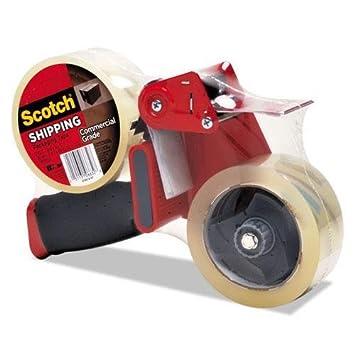 3 M 37502st embalaje dispensador de cinta adhesiva (con 2 rollos de cinta adhesiva,