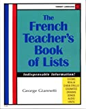 img - for The French Teacher's Book Of Lists (French Edition) book / textbook / text book