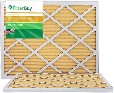 FilterBuy 20x25x1 Pleated Furnace Filters