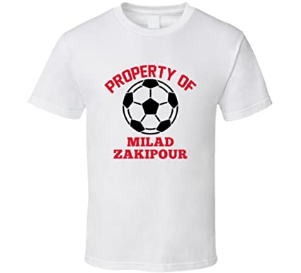 quality design 4fe29 e4d4b Amazon.com: Milad Zakipour Property of Iran World Cup 2018 ...