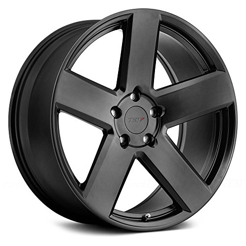 TSW DONINGTON Black Wheel with Painted Finish 17 x 8. inches //5 x 4 inches, 42 mm Offset