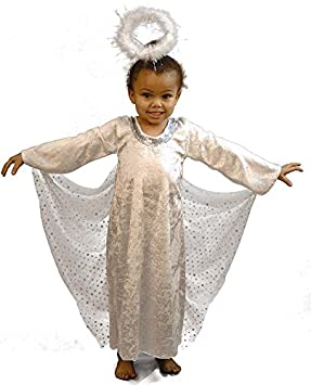 70534cc4c4 Nativity-Bible-World Book Day-Gabriel ARCH ANGEL Child s Fancy Dress Costume  - All Ages (3-4 years)  Amazon.co.uk  Toys   Games