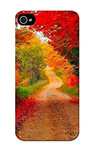 New Fashionable VenusLove C994a1a3234 Cover Case Specially Made For Iphone 5/5s(the Autumn Path)