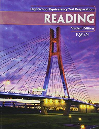 High School Equivalency Test Prep: Student Workbook Reading
