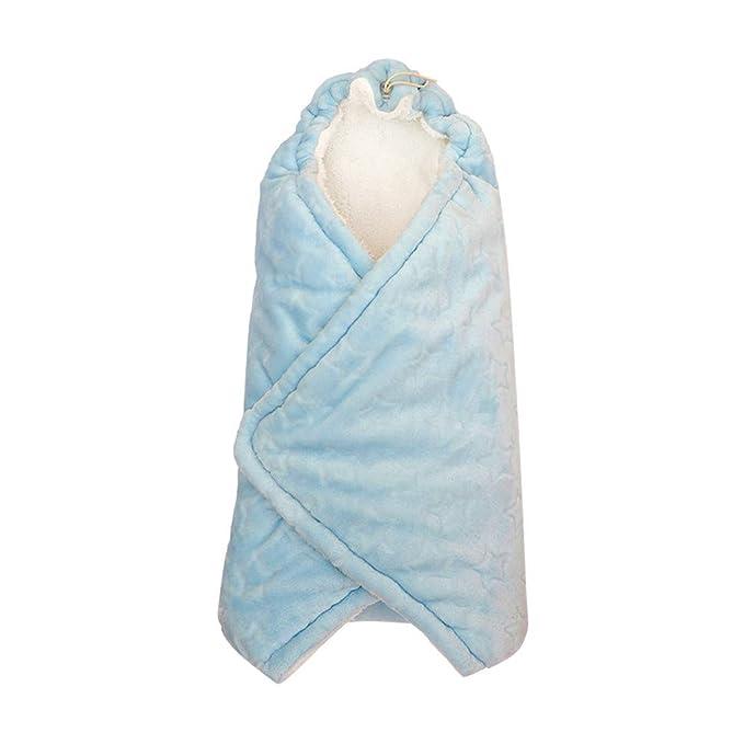 Mitlfuny Saco de Dormir para Bebé Niños Invierno Cálido Manto Recién Nacido Franela Forro Polar Swaddle