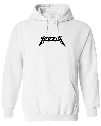 Yeezus - Sudadera con capucha unisex de color blanco, temporada 3 blanco XX-Large : Amazon.es: Ropa y accesorios