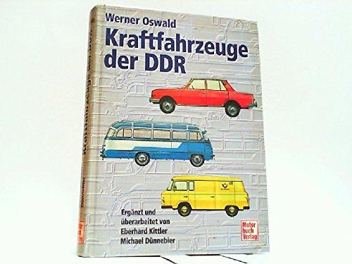 Kraftfahrzeuge der DDR